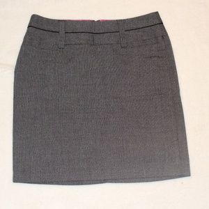 Maurices Grey Pencil Skirt